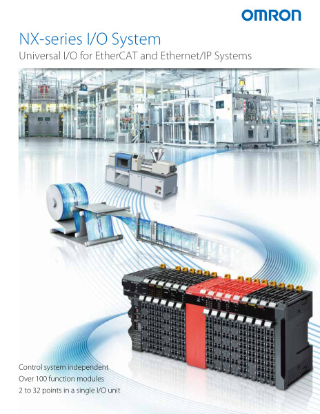 Universal I/O for EtherCAT and Ethernet/IP Systems