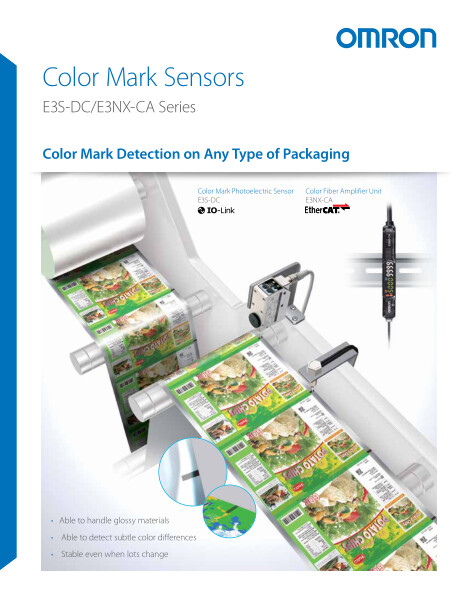 Color Mark Detection on Any Type of Packaging