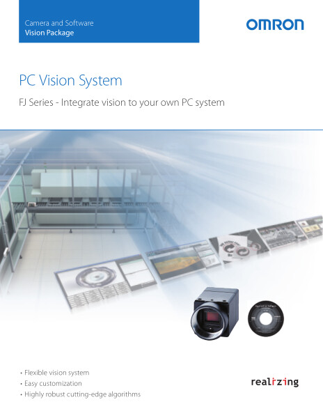 FJ Series - Integrate vision to your own PC system.