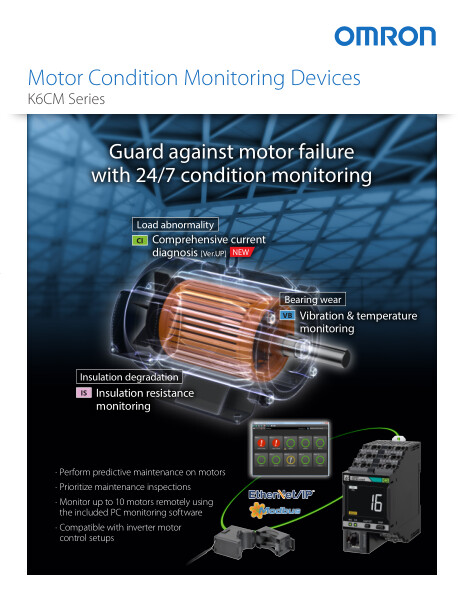 Stay alert to signs of motor failure with round-the-clock monitoring