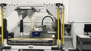 This unique solution simplifies setup and reduces the complexity of rapid product changeovers. It can be integrated and fed by autonomous mobile robots, direct conveyor or manually fed.