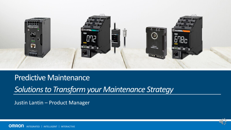 Solutions to Transform your Maintenance Strategy