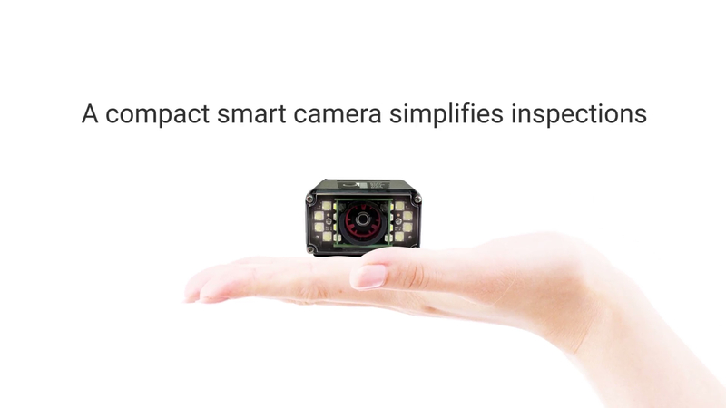 Learn about compact smart cameras that simplify inspections.