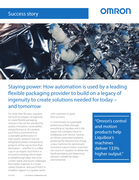 Staying power: How automation is used by a leading flexible packaging provider to build on a legacy of ingenuity to create solutions needed for today – and tomorrow.