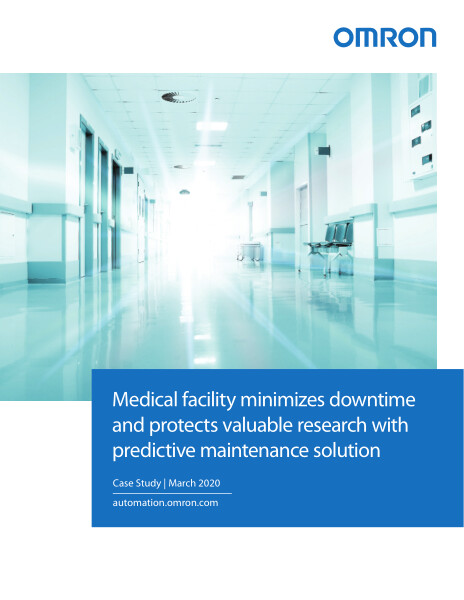 Medical facility minimizes downtime and protects valuable research with predictive maintenance solution.