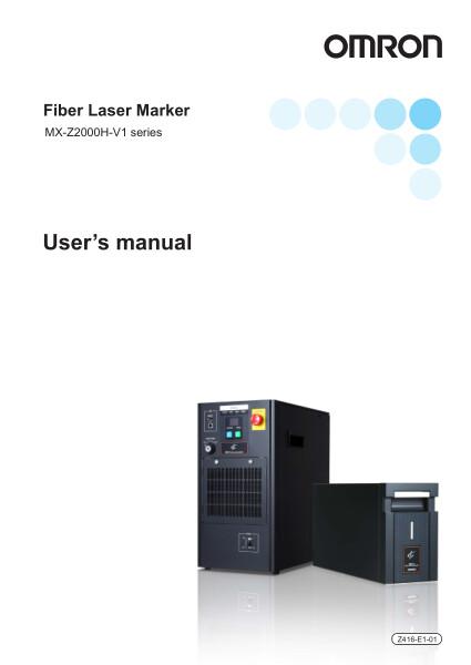 Fiber Laser Marker    MX-Z2000H-V1 series