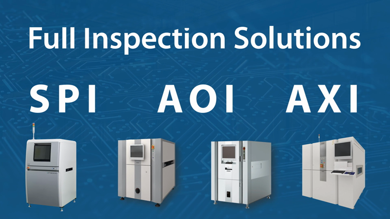 Suitable for a wide variety of SMT requirements, Omron's automated inspection systems are designed to ensure the highest degree of quality and consistency in PCB production.