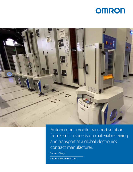 An American multinational contract manufacturer of electronics needed to speed up material receiving and transport at its Mexico locations while continuing to avoid errors.