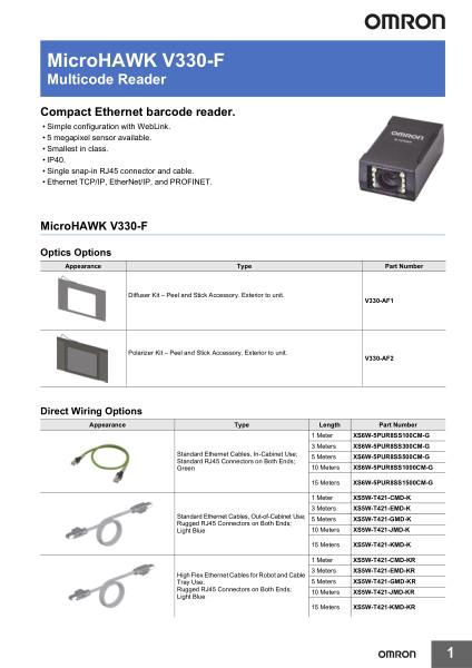 Multicode Reader    Compact Ethernet barcode reader.