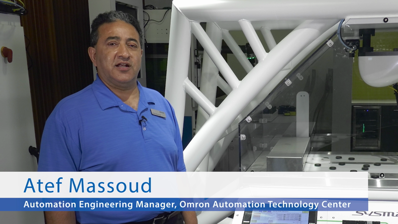 The complete automation solution for your robotics production line. This multi-robot pick-and-place demo from Omron presents multiple integrated technologies designed to enable customization, including three high-speed delta robots working on four conveyors. Robotics and other technologies including vision, motion and control show how intelligent, modular design can create reusable functions and subsystems that improve application flexibility.