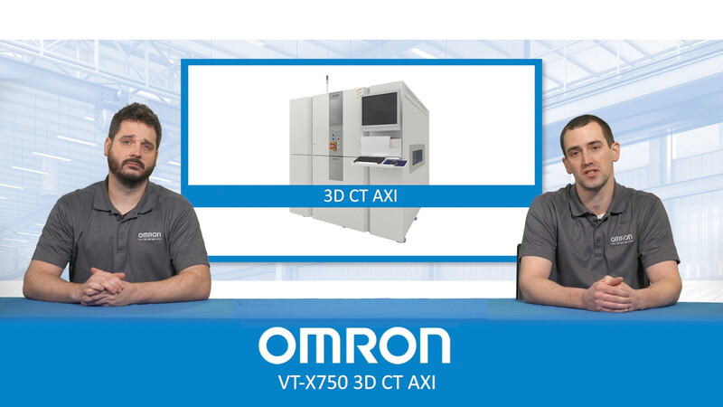 Learn more about Omron's VT-X750 3D CT AXI ma from Omron engineers.