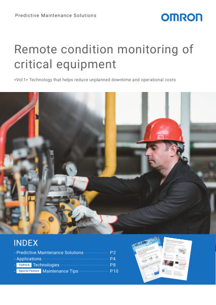 Remote condition monitoring of critical equipment.
